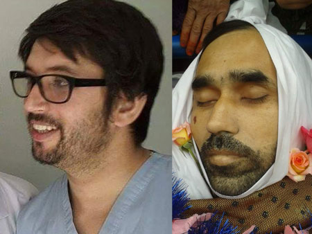 Two doctors killed in the US airstrike on a MSF clinic in Kunduz, Afghanistan