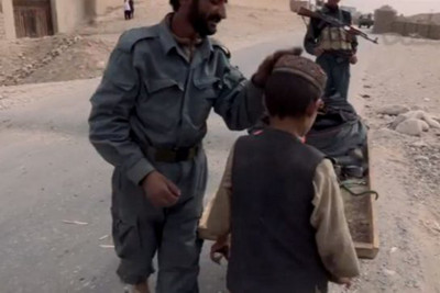 A screengrab from a documentary called This is What Winning Looks Like, produced by Ben Anderson. The film looks at the practice of bacha bazi, or