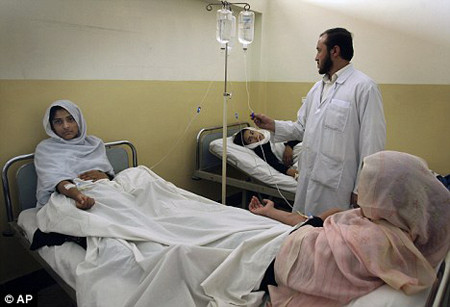 Schoolgirls poisoned in different parts of Afghanistan