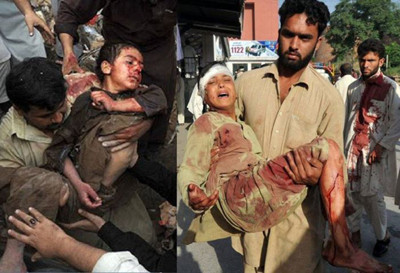 Drone strike victims in Pakistan
