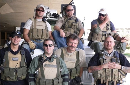Private US contractors Dyncorp  Blackwater
