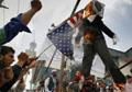 Second NATO helicopter crashes; Afghans protest over killings