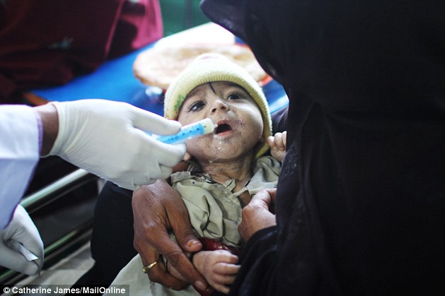 Ehsanullah's mother died when he was two days' old because she began bleeding from the womb