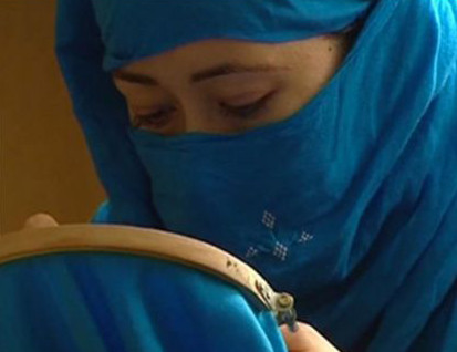 Screengrab of the documentary on women jailed in Afghanistan which was banned by the EU
