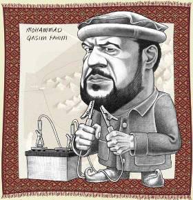 Qaseem Fahim infamous warlord
