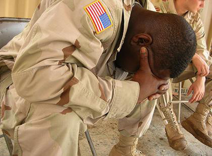 Soldiers suffer from PTSD much higher in number than thought previously
