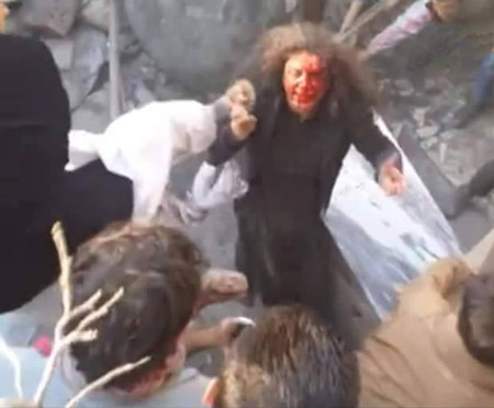 Farkhunda lynched by mob in Kabul