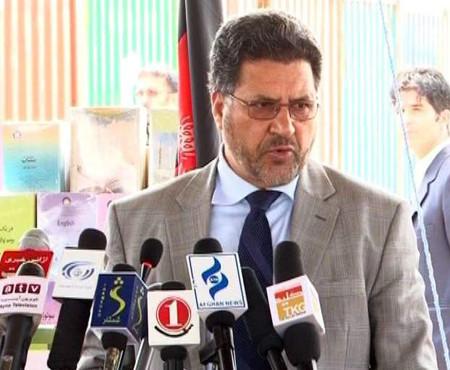 Farooq Wardak, the education minister