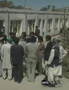 video showing fraudulent elections in afghanistan
