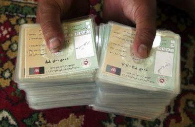 Fraud cards in Logar