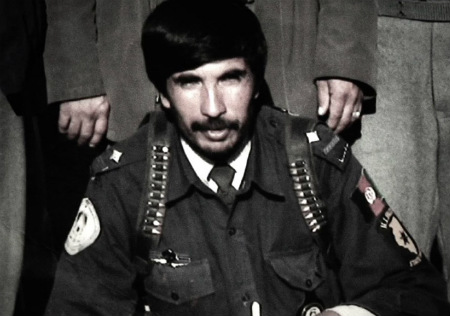Mohammed Daoud Sharabuddin in his police uniform