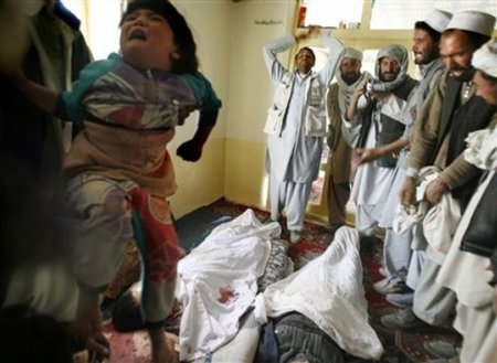 Civilians killed by NATO in Ghazni
