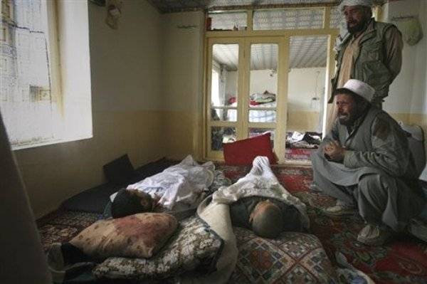 Four of a family killed by NATO