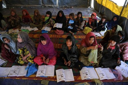 Girls' education under threat in Afghanistan