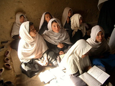 Many Afghan children can't attend school due to conflict in the country