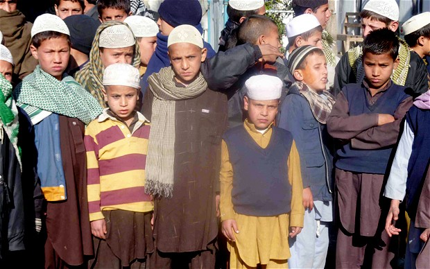 These children were being sent to be trained to attack Afghan and international forces in suicide training camps