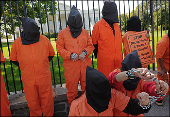 Protest over prison in Afghanistan