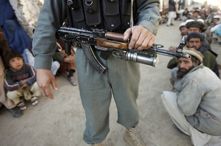Private militias is a big problem in Afghanistan today