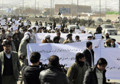 Helmand residents stage protest rally in Kabul
