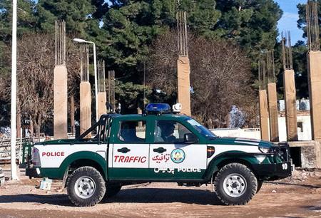 Herat police car