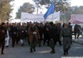 Hundreds Protest In Afghanistan Over Iran's Blocking Fuel Tankers