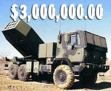 HIMRAS rocket launcher costs 3,000,000 USD