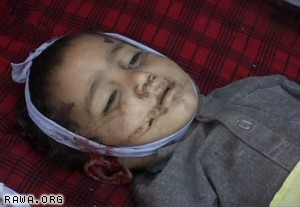 US toops killed children