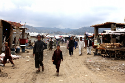 Golan refugee camp in Afghanistan's Khost province