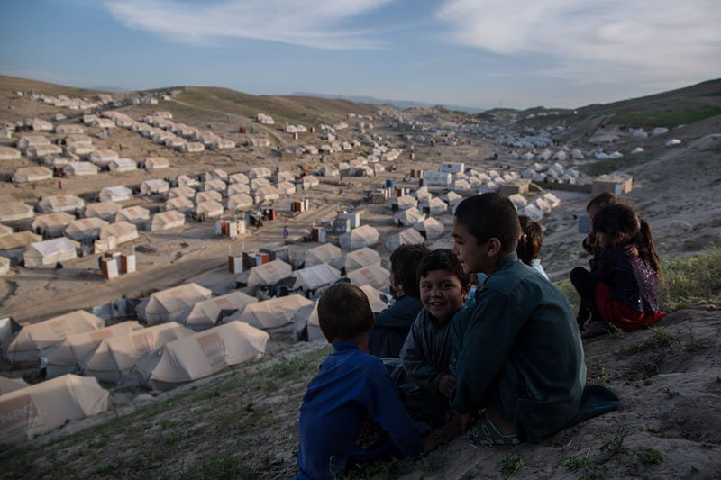 Children living on Afghanistan's frontline