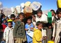 Quake-affected families become IDPs in east