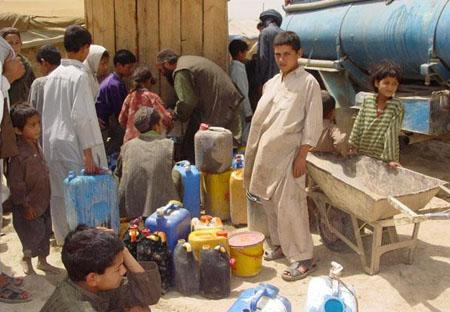 IDPs in Kabul live in very bad conditions