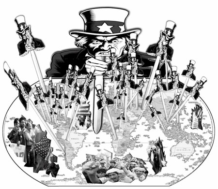 US imperialism and hegemony over the world