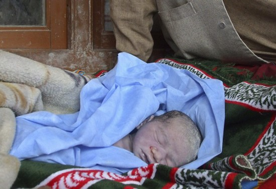 Infant killed by US troops