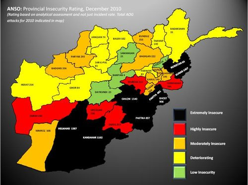 Insecurity in Afghanistan