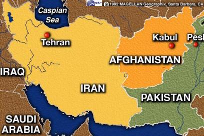 Iran Afghanistan border