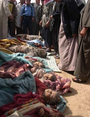 Murder of 24 innocent civilians by U.S. Marines in the Iraqi town of Haditha