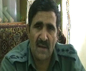 The police commander of western Badghis province Abdul Jabar Salah, accused of raping three policewomen