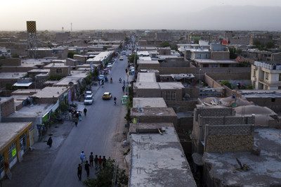 Jubrayl neighborhood in Herat, Afghanistan
