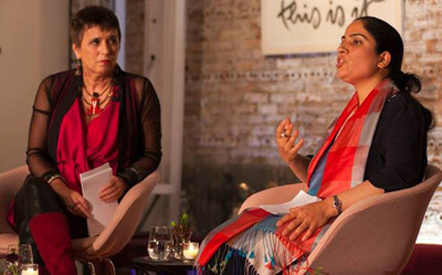 Malalai Joya spoke with Eve Ensler about Afghanistan, U.S./Nato occupation, warlords