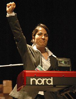 Malalai Joya in UCLA during her US tour