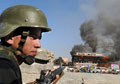 Taliban-led suicide attack kills 10, wounds 120 in Afghan town