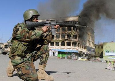 Taliban attack Kabul