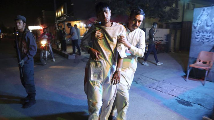Kabul blast in Dashte Barchi area in a sports club on Sep 5, 2018