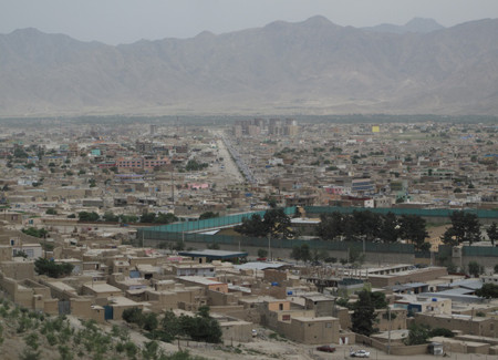 Kabul continues to sprawl in all directions