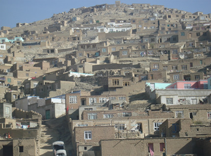 Houses in Kabul