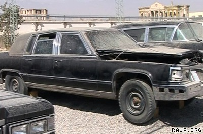 Old cars of Afghan kings