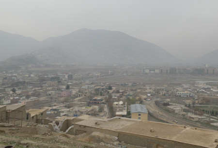 Smog over Kabul