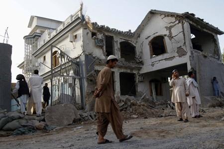 Kandahar blast site