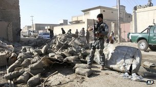 The Kandahar attack left three police dead