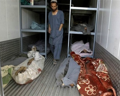 Kandahar bomb victims Sep 29, 2009